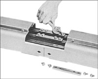 Typical Feedrail Installation